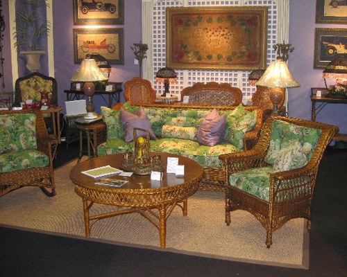 Antique American Wicker: Michael Donovan And James Butterworth